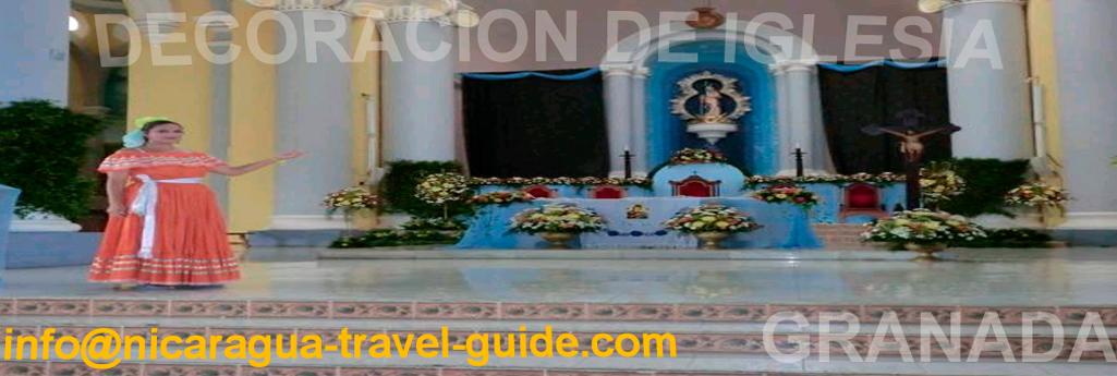 decoracion de iglesias y arreglos florales en nicaragua