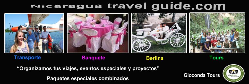 header nicaragua travel guide organizamos eventos y fiestas paquetes