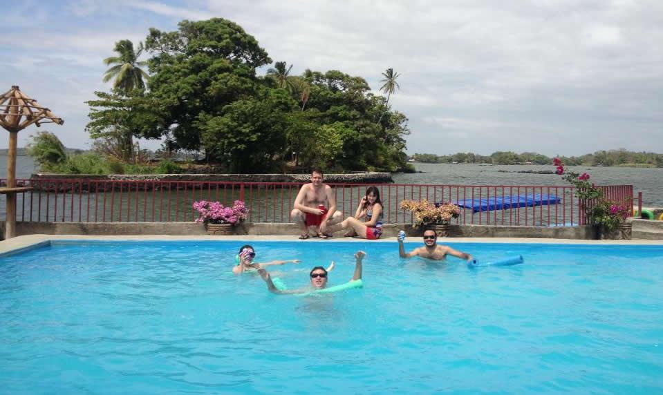 Isla grande piscina