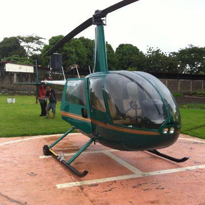chartehelicopteroverde