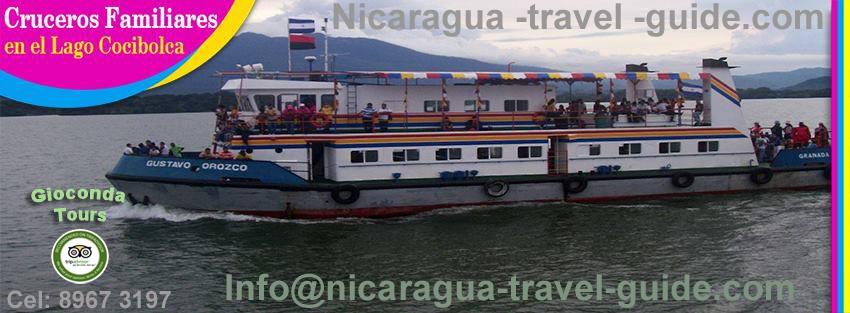 crucero turistico desde el puerto principal de Granada viaje de recreacion familiar