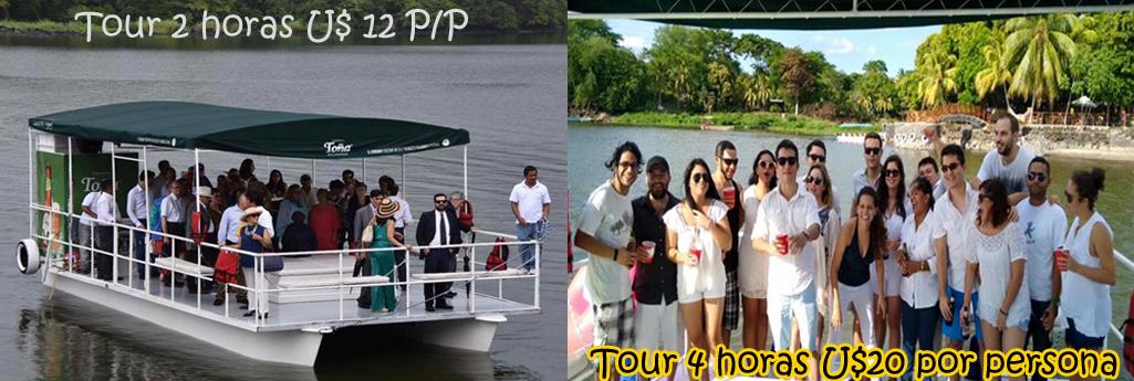 header tour entre las isletas whatamaran opcion de dos y cuatro horas
