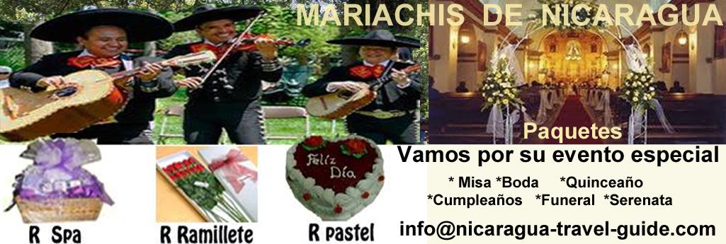 mariachis de nicaragua travel guide paquete con regalo incluido o sencillo