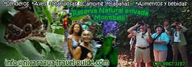 nicaragua travel guide Managua tour reserva natural privada Montibelli