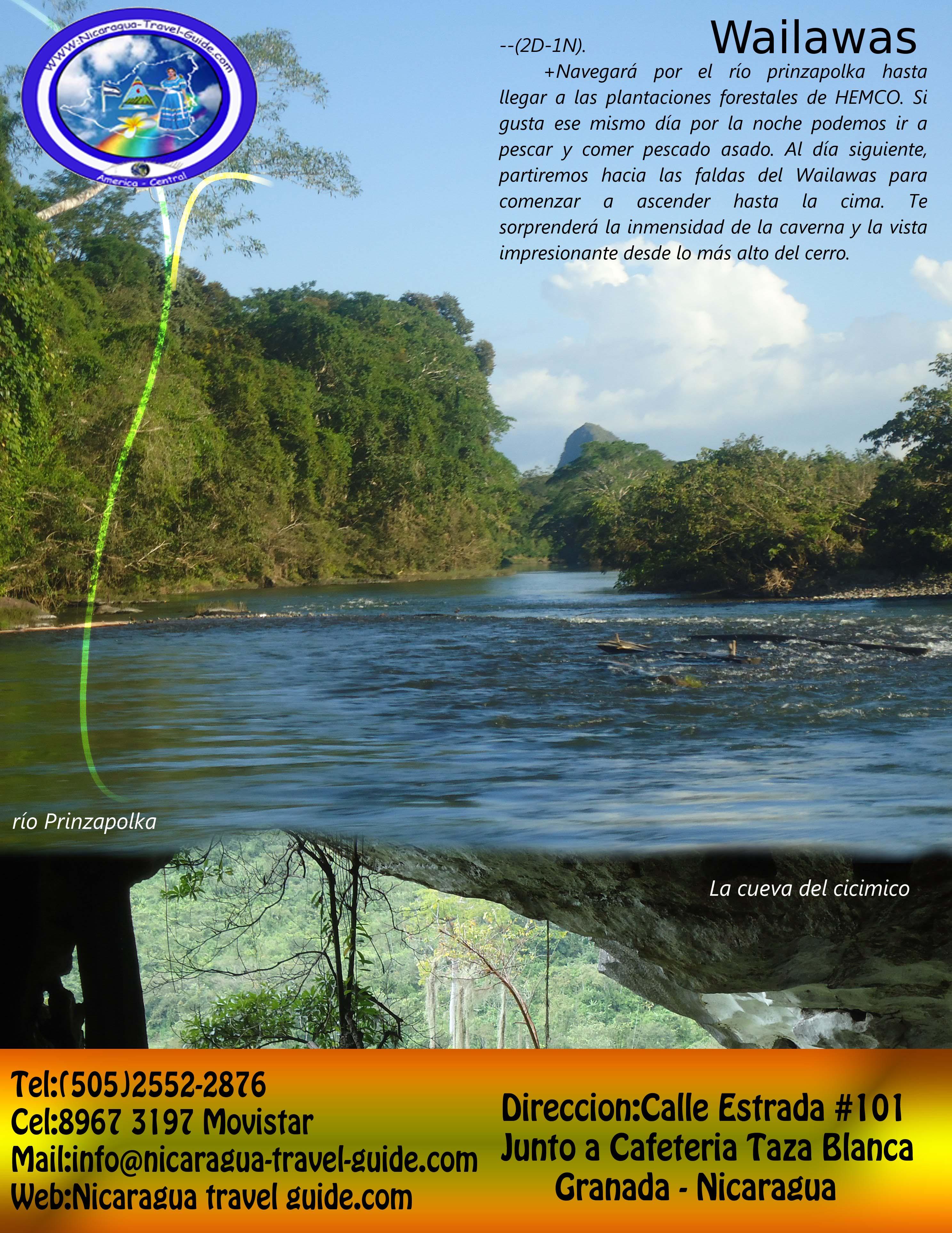 nicaragua travel guide region atlantico norte de nicaragua tour wailwas siuna