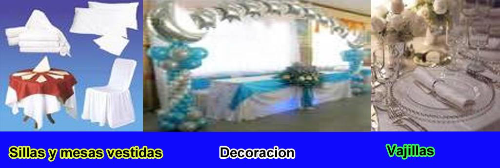 servicio catering evento sillas y mesas decoracin y buffet